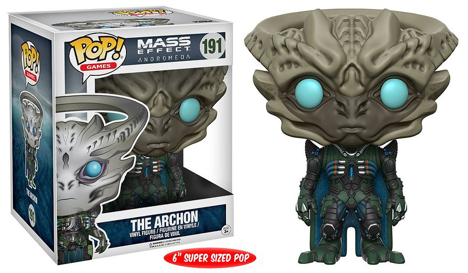 "Pop! Games Mass Effect: Andromeda Vinyl Figure 6"" The Archon #191"