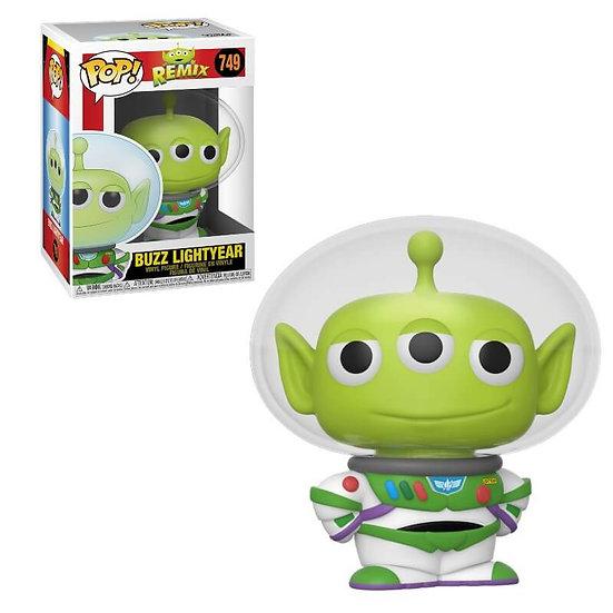Pop! Disney Remix Vinyl Figure Buzz Lightyear (Alien) #749