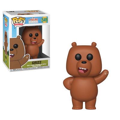 Pop! Animation We Bare Bears Vinyl Figure Grizz #549