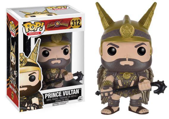 Pop! Movies Flash Gordon Vinyl Figure Prince Vultan #312 (Vaulted)
