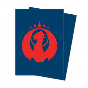 Guilds of Ravnica - Izzet League Standard Deck Protector sleeves 100ct for Magic