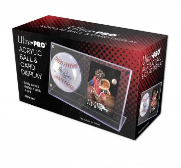 Ultra pro Acrylic Baseball & Card Clear Holder