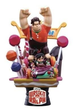 "DISNEY D SELECT WRECK-IT RALPH 6"" DIORAMA SET"