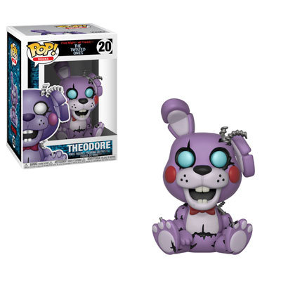 Pop! Books Five Nights at Freddy's Vinyl Figure Twisted Theodore #20