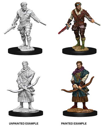 Dungeons & Dragons Nolzur's Marvelous Miniatures: Male Human Rogue