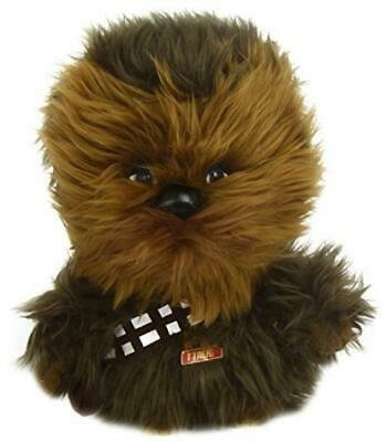 Star Wars Deluxe Talking Chewbacca Underground Toys Plush Animal 9""