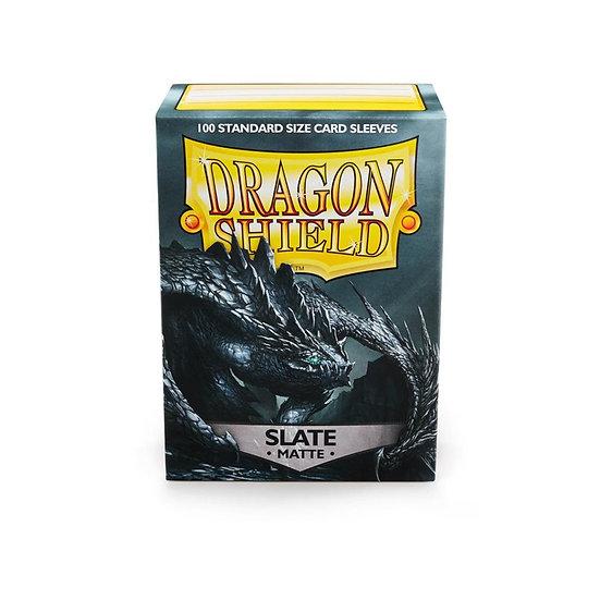 Dragon Shields: Matte Card Sleeves (100): Slate