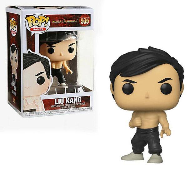 Funko Pop Mortal Kombat Liu Kang #535