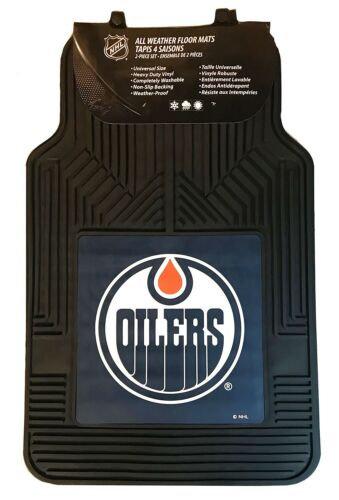 Edmonton Oilers NHL 2 Piece Car Floor Mat, Factory New