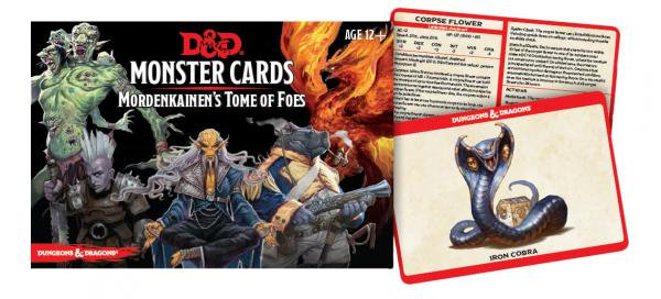 Dungeons & Dragons (5th Edition): Monster Cards: Mordekainen's Tome of Foes