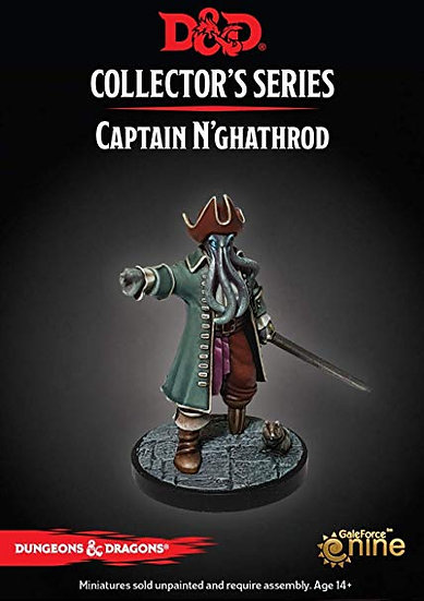 Dungeon of the Mad Mage- Captain N'Ghathrod