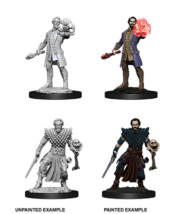 Dungeons & Dragons Nolzur's Marvelous Miniatures: Male Human Warlock