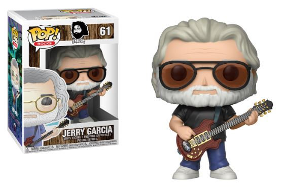 Pop! Rocks Vinyl Figure Jerry Garcia #61