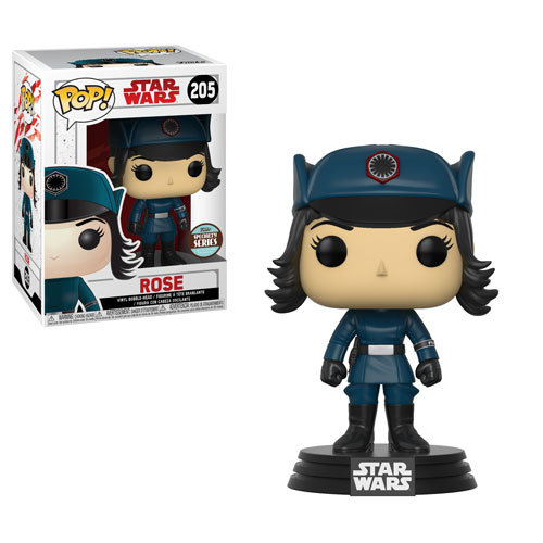 Pop! Star Wars The Last Jedi Vinyl Bobble-Head Rose in Disguise #205