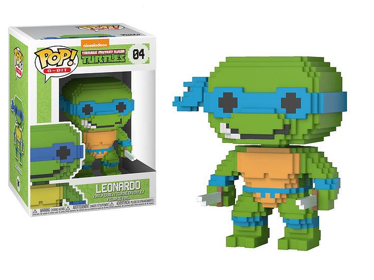 Pop! 8-Bit Teenage Mutant Ninja Turtles Vinyl Figure Leonardo #04