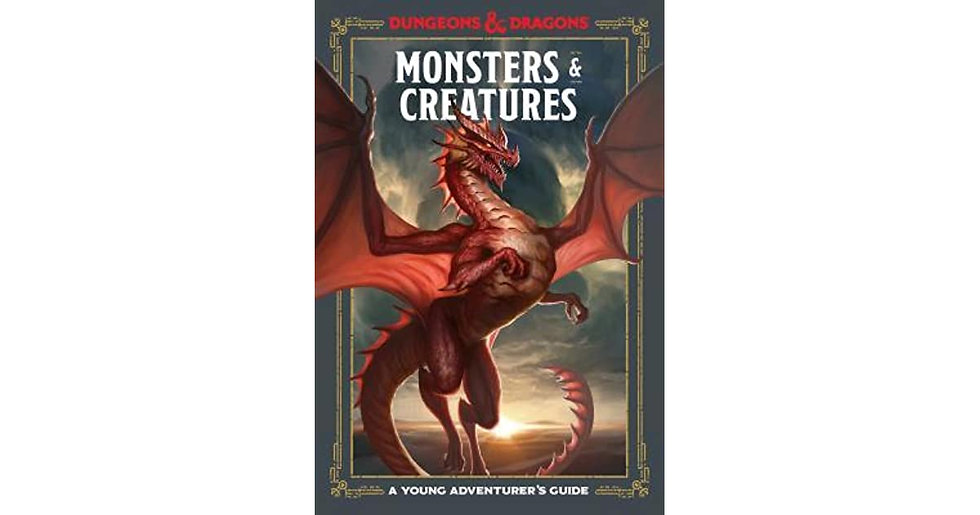 Dungeons & Dragons Monsters & Creatures Book