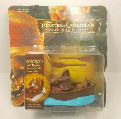 Disney Pirate Caribbean Motorized Skiff Rowing Pintel Prison Dog 2006
