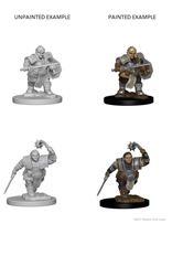 Dungeons & Dragons Nolzur's Marvelous Miniatures: Dwarf Fighter (Female)