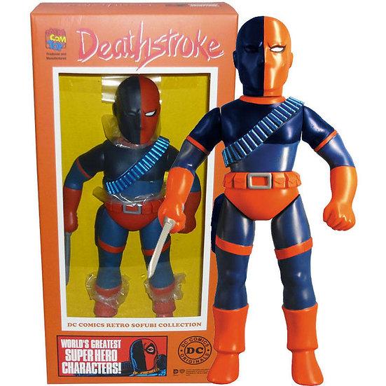 Medicom DC Comics Retro Sofubi Collection Deathstroke PVC Figure