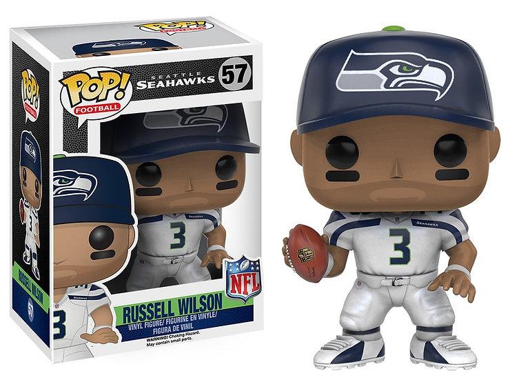 Pop! Football NFL Vinyl Figure Russell Wilson (Seattle Seahawks) #57