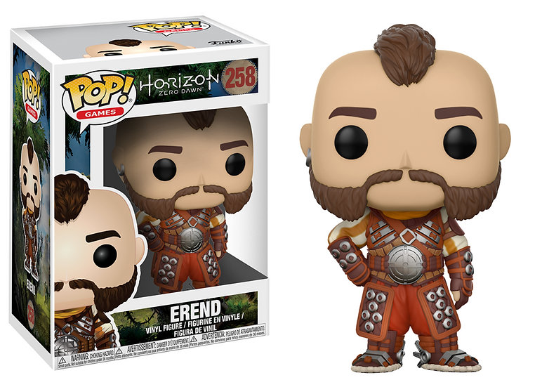 Pop! Games Horizon Zero Dawn Vinyl Figure Erend #258 (Vaulted)