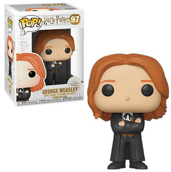 Pop! Harry Potter Vinyl Figure George Weasley #97