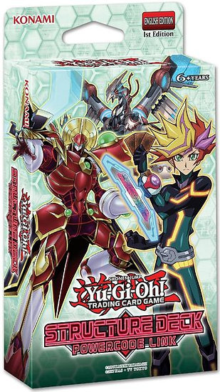YuGiOh Trading Card Game Structure Deck: Powercode Link