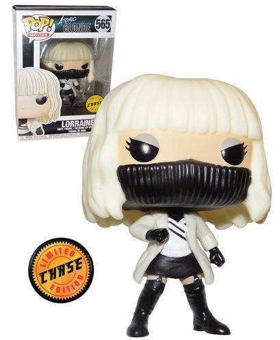 Funko POP! Movies Atomic Blonde #565 Lorraine (White Coat) Chase