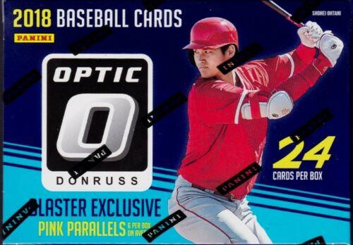 2018 Donruss Optic Baseball sealed blaster box