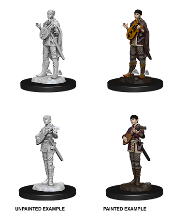 Dungeons & Dragons Nolzur's Marvelous Miniatures: Half-Elf Bard (Female)