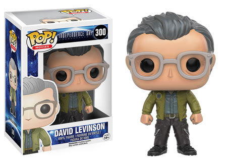Pop! Movies Independence Day Resurgence Vinyl Figure David Levinson #300 Vaulted
