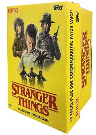 Topps 2018 Stranger Things Value Box