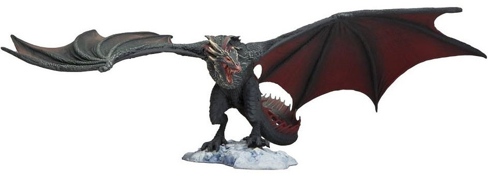 "McFarlane Toys Game of Thrones Drogon Deluxe Action Figure 13"" Wingspan"