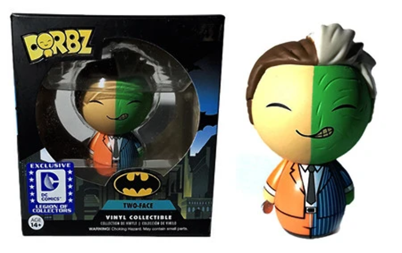 Dorbz Two-Face DC Legion Of Collectors Exclusive Figure