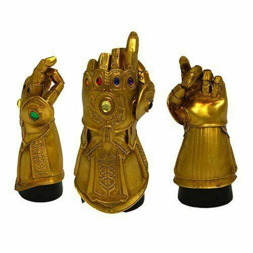 Marvel Infinity Gauntlet Snap Desk Monument Statue 2019 SDCC Exclusive #/2500