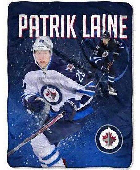"Patrik Laine Winnipeg Jets 50"" x 60"" Silk Touch Plush Throw Blanket"