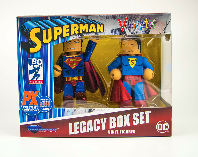 SDCC 2018 Superman 80th Anniversary Vinimate Exclusive 2-Pack