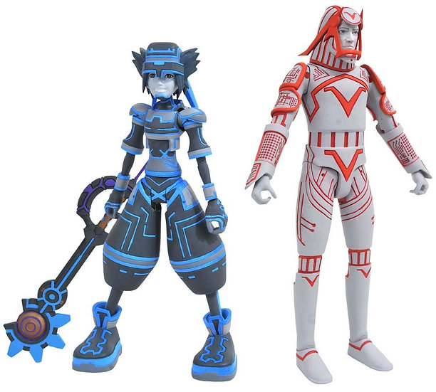 Disney Kingdom Hearts Series 3 Sora & Sark Action Figures