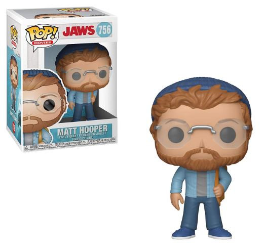 Pop! Movies Jaws Vinyl Figure Matt Hooper #756