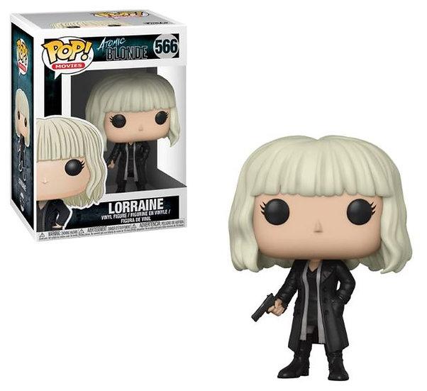 Pop! Movies Atomic Blonde Vinyl Figure Lorraine with Gun #566