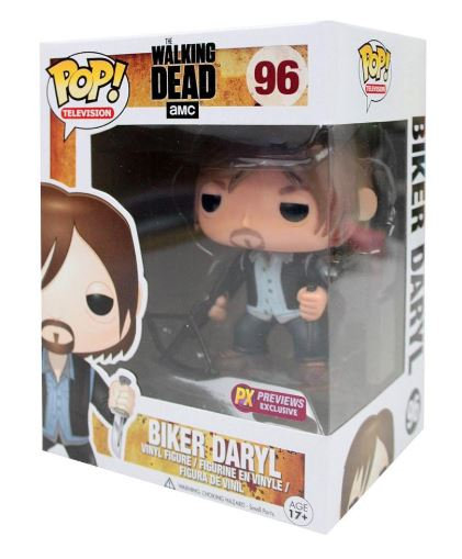 Pop! Television The Walking Dead Biker Daryl #96 PX Exclusive (Box Damage)