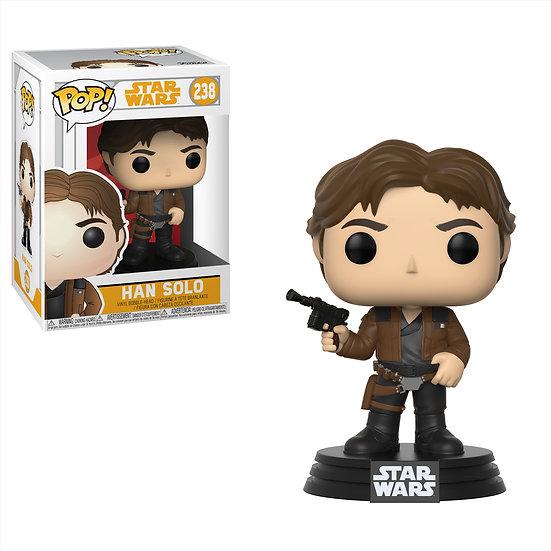Pop! Star Wars Solo Vinyl Bobble-Head Han Solo #238