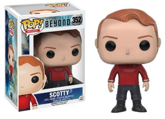 Pop! Movies Star Trek Beyond Vinyl Figure Scotty #352 (Vaulted)