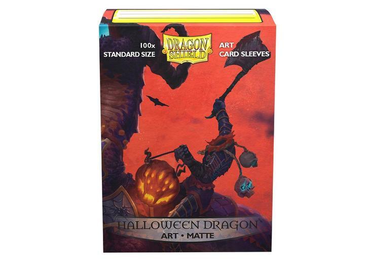 Dragon Shield: Sleeves - Halloween Dragon (100ct)
