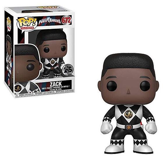 Funko Pop Television: Power Rangers - Black Ranger #672