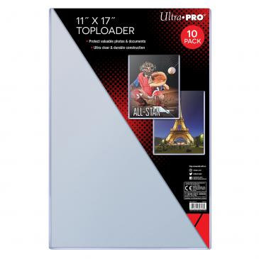 """Ultra Pro 11"""" X 17"""" Toploader 10ct (1 Only)"""