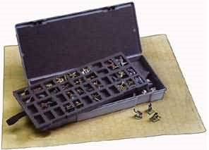 Figure Storage Box: 25mm 80 Compartments