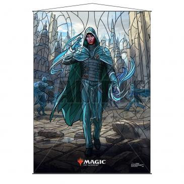 Stained Glass Planeswalkers Wall Scroll Jace for Magic