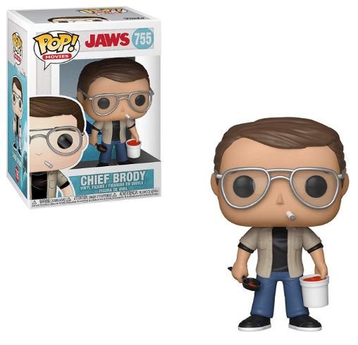 Pop! Movies Jaws Vinyl Figure Chief Brody #755