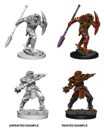 Dungeons & Dragons Nolzur's Marvelous Miniatures: Dragonborn Fighter With Spear